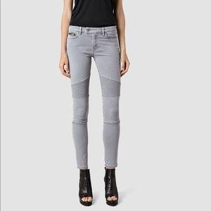 All Saints Biker Fit skinny jeans